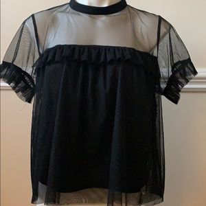 GUESS - Feminine Lace Blouse